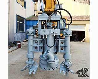 挖掘机抽砂泵